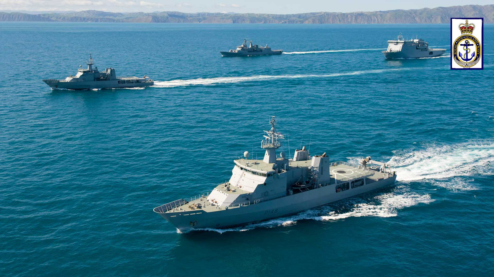 New Zealand Navy Vessels