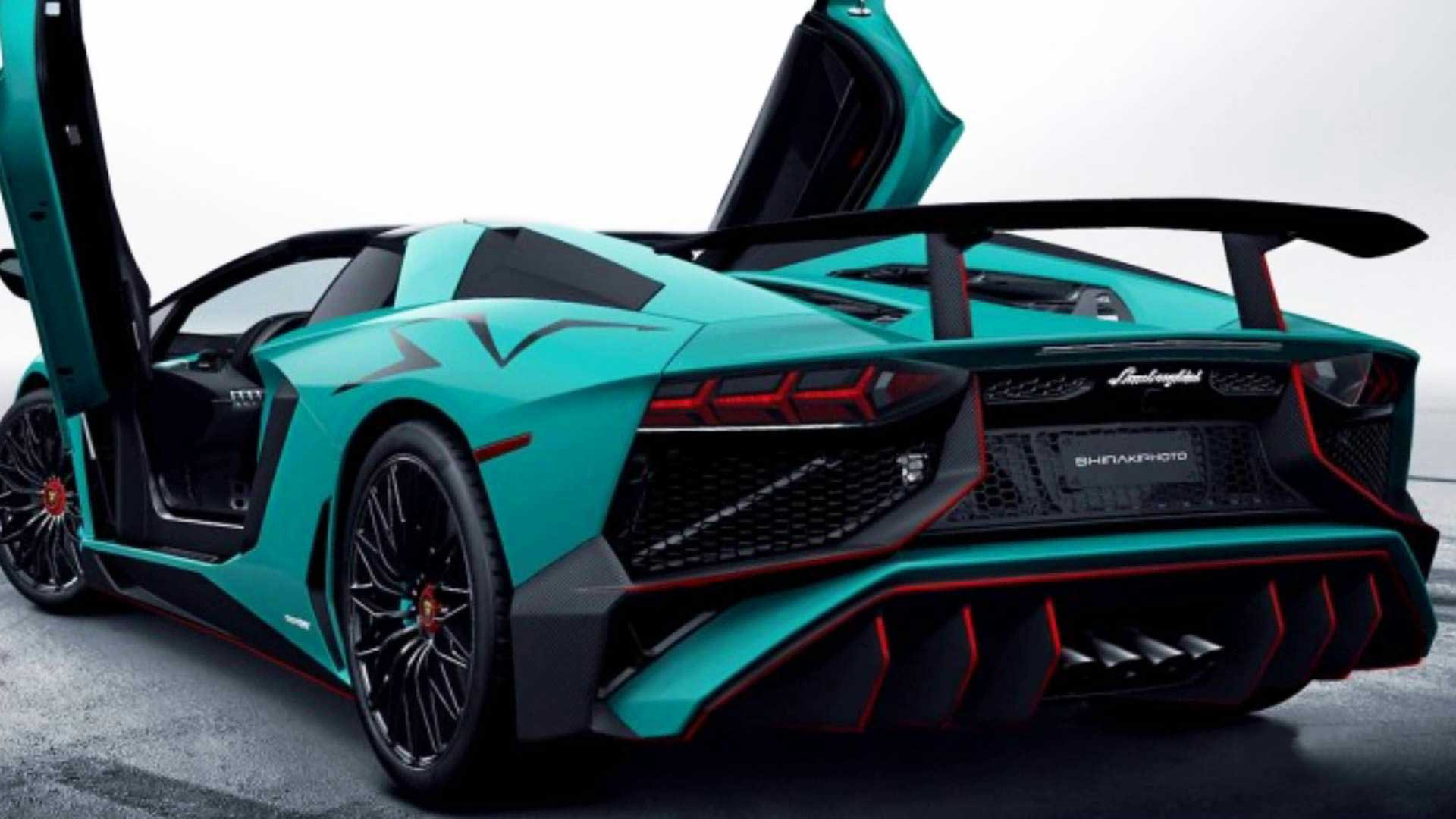 The 2016 Lamborghini Aventador SuperVeloce