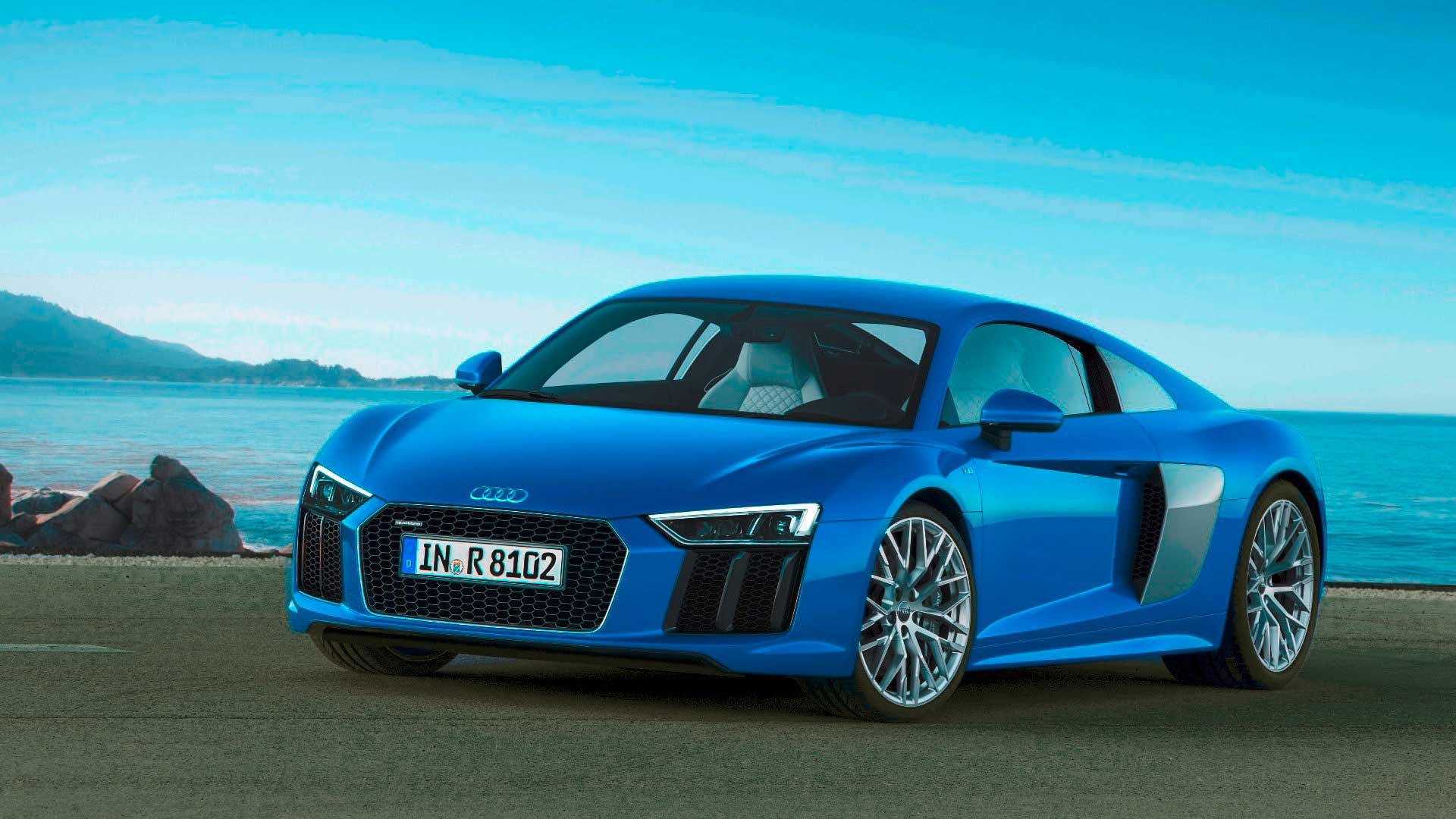 The 2017 Audi R8