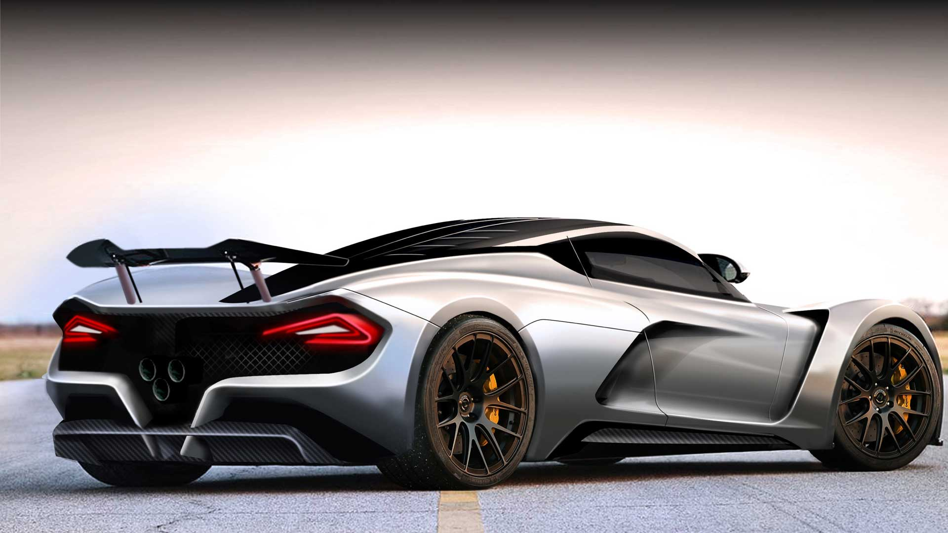 The Hennessey Venom F5 2015